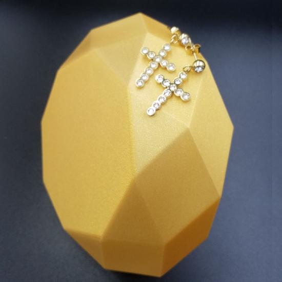 Kolczyki Krzyż
